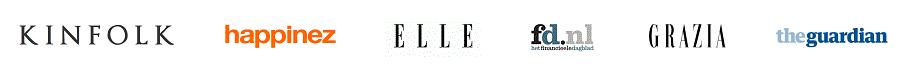 media outlets logo string